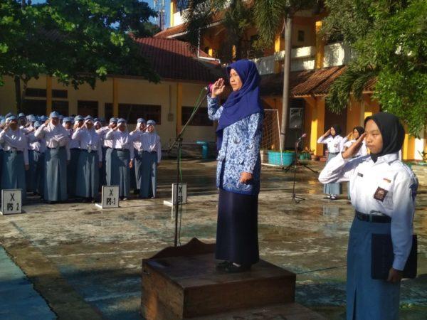 SMA Negeri 1 Ungaran Laksanakan Upacara HARDIKNAS 2019