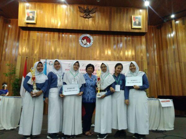 SMANSA Ungaran Juara LCC Pendidikan Karakter Kebangsaan Se-Kota Salatiga dan Kab.Semarang