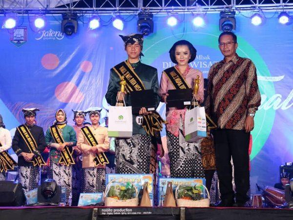 SMA Negeri 1 Ungaran Juara Dalam Pemilihan Mas & Mbak Duta Wisata Kabupaten Semarang 2019